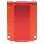 Bosch мишень (цвет красный) Professional