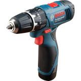 Bosch GSB 120-LI Professional (1.5 Ah x 2, Case)