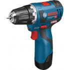 Bosch GSR 10,8 V-EC Professional (2.0 Ah x 2, L-BOXX)