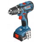 Bosch GSR 14,4-2-LI Plus Professional (2.0 Ah x 2, Case)