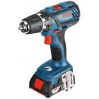 Bosch GSB 18-2-LI Plus Professional (2.0 Ah x 2, Case)