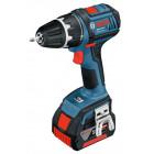 Bosch GSR 18 V-LI Professional (4.0 Ah x 2, L-BOXX)