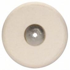 Войлочный полировальный круг с резьбой M 14 180 mm