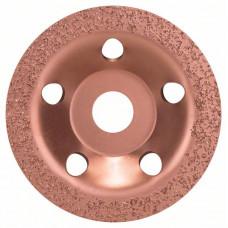 Твердосплавный чашечный шлифкруг 115 x 22,23 мм; мелкозерн., плоск.