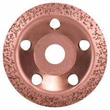 Твердосплавный чашечный шлифкруг 115 x 22,23 мм; среднезерн., скошен.