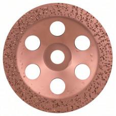 Твердосплавный чашечный шлифкруг 180 x 22,23 мм; крупнозерн., плоск.
