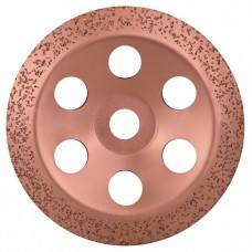 Твердосплавный чашечный шлифкруг 180 x 22,23 мм; среднезерн., скошен.
