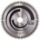 Пильный диск Multi Material 210 x 30 x 2,5 mm, 80