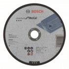 Отрезной диск прямой Standard for Metal A 30 S BF, 180 mm, 22,23 mm, 3,0 mm