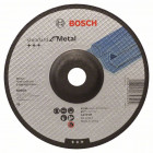 Обдирочный круг, выпуклый, Standard for Metal A 24 P BF, 180 mm, 22,23 mm, 6,0 mm