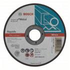 Отрезной круг, прямой, Expert for Metal, Rapido AS 60 T BF, 125 mm, 1,0 mm