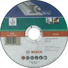 Отрезной круг по металлу, прямой INOX 115х22,2х1,6 мм