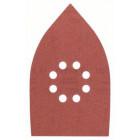 Набор из 5 шлифлистов для мультишлифмашин 100 x 170, 180