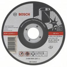Отрезной круг Bosch Best for Inox - Rapido Long Life по нержавейке 115x1,0