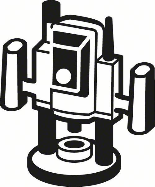 Карнизная фреза 8 mm, R1 10 mm, L 16,5 mm, G 57 mm