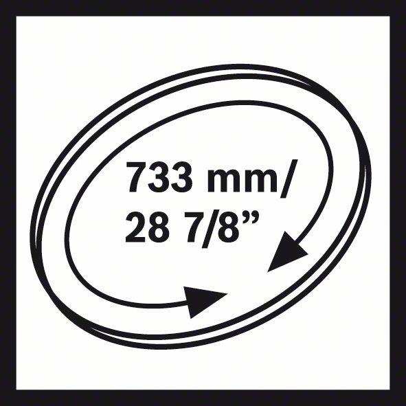 Пильное полотно для ленточной пилы CB 2818 BIM, 18tpi CB 2818 BIM